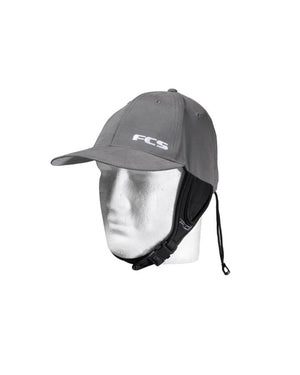 FCS Wet Baseball Cap - Gunmetal / Grey SURF WORLD