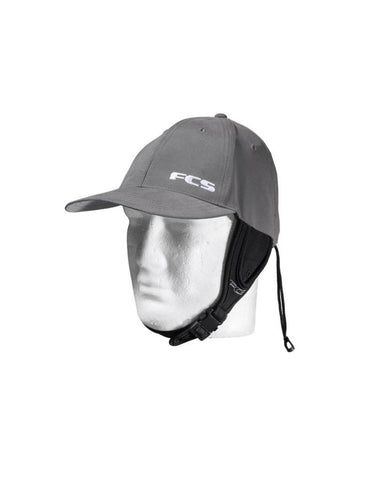 FCS Wet Baseball Cap - Gunmetal / Grey