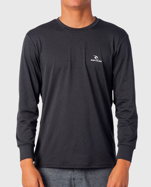 Rip Curl Search Series LS Surf Shirt - Black Khaki