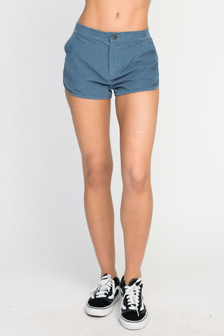 RVCA Womens Cordy Soft Corduroy Shorts - - SURF WORLD Fort Lauderdale Florida