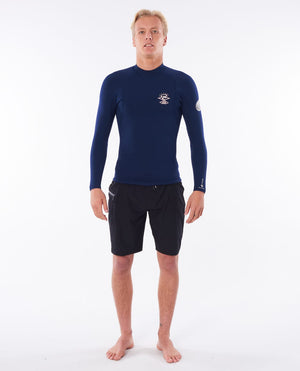 Rip Curl E Bomb 1.5mm LS Wetsuit Jacket - Navy