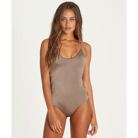 Billabong Sol Searcher 1 Piece Womens Swimsuit - Clay