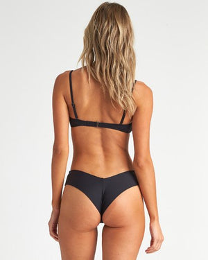 Billabong Sol Searcher Fiji Bikini Bottom - Black Pebble