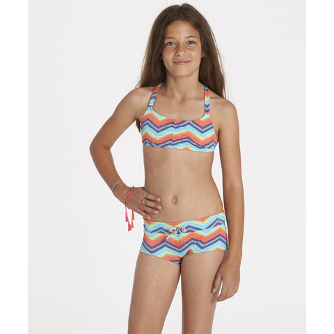 Billabong Ziggyland Tali Crossback Girls Bathingsuit Set Y215JZIG-MUL - SURF WORLD