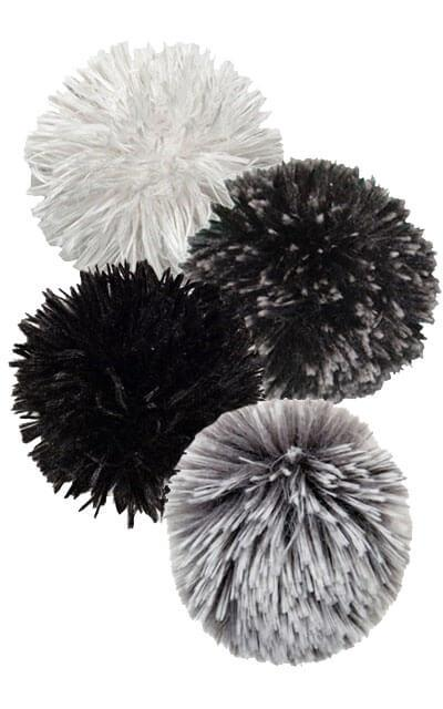 Pom Pom Brooch Collection | Handmade in Seattle WA | Pandemonium Millinery