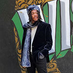 Men's Scarves Mega Menu Image | Handmade in Seattle WA | Pandemonium Millinery