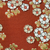 Rust Flowers Silk