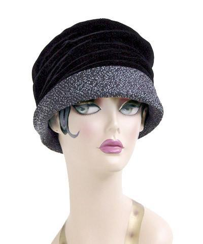 Ana Cloche Hat Style - Static Upholstery