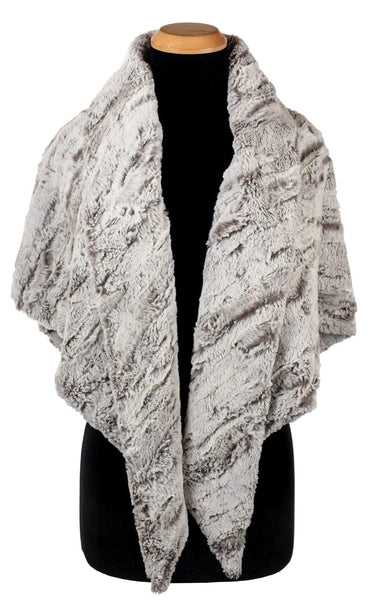 Pandemonium Millinery Bermuda Scarf - Luxury Faux Fur in Khaki Scarves