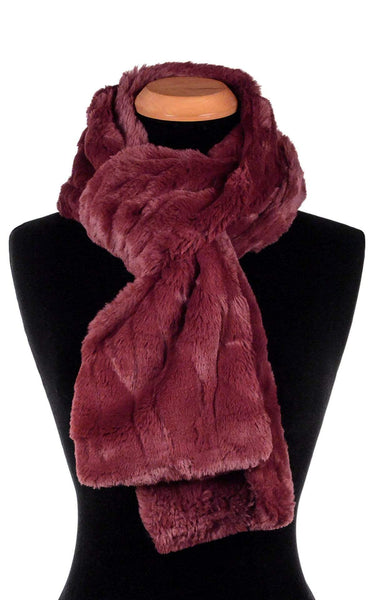 Pandemonium Millinery Classic Scarf - Luxury Faux Fur in Cranberry Creek Standard / Cranberry Creek Scarves