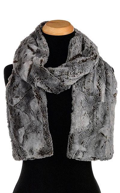 Classic Scarf - Luxury Faux Fur in Giant's Causeway Standard / Giant's Causeway Scarves Pandemonium Millinery