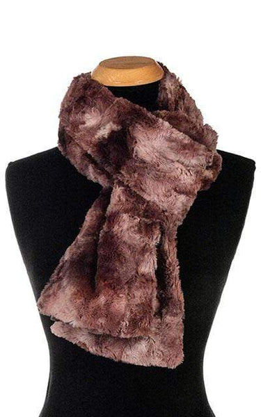 Pandemonium Millinery Classic Scarf - Luxury Faux Fur in Highland (Meadow -  1 Standard Left!) Scarves
