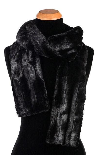 Classic Scarf - Minky Faux Fur (MAUVE - LIMITED AVAILABILITY!)