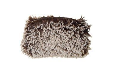 Coin Purse & Cosmetic Bag - Fox Faux Fur