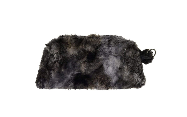 Pandemonium Millinery Coin Purse & Cosmetic Bag - Highland Faux Fur Cosmetic / Highland in Skye Handbag