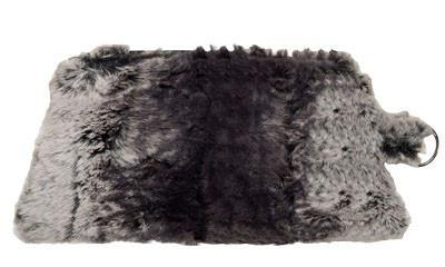 Coin Purse & Cosmetic Bag - Luxury Faux Fur in Meerkat