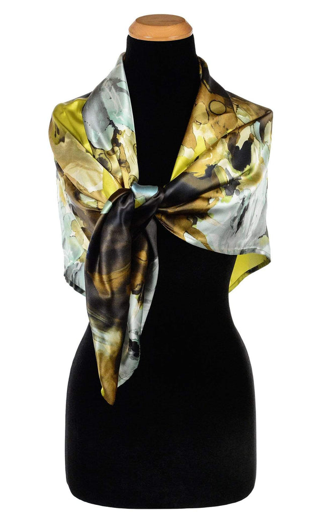 Pandemonium Millinery Euro Scarf - Fiesta Silk Collection Apparel