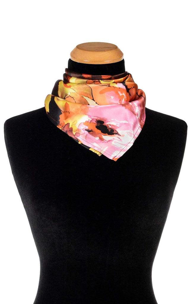 Pandemonium Millinery Euro Scarf - Fiesta Silk Collection Fiesta in Carnival / 21 Inch Square Apparel