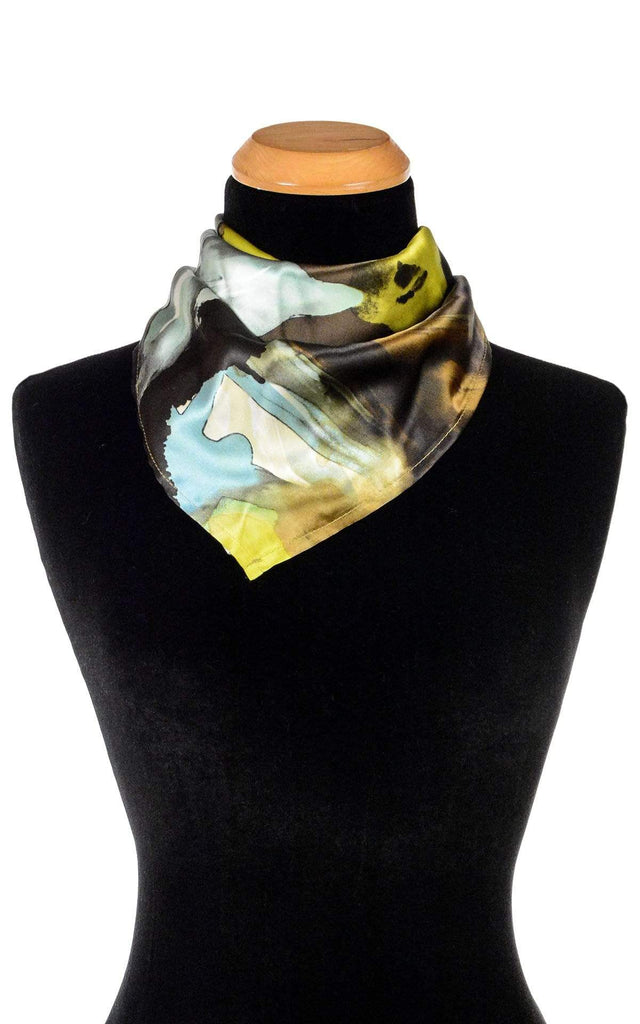 Pandemonium Millinery Euro Scarf - Fiesta Silk Collection Fiesta in Masquerade / 21 Inch Square Apparel