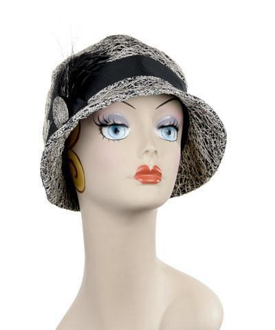 Grace Cloche Style Hat - Luna in Black