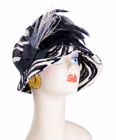Grace Cloche Style Hat - Waves Upholstery