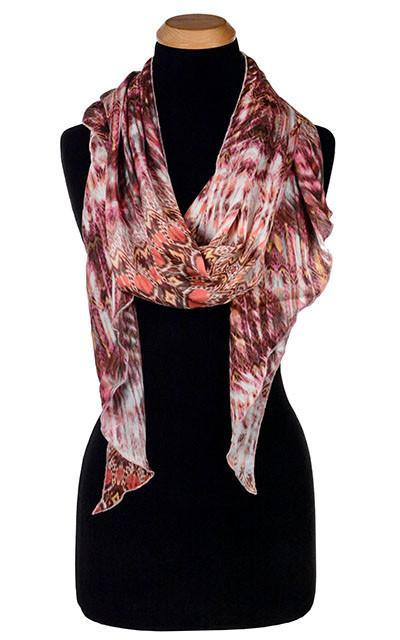 Handkerchief Scarf - Pink Dream, Solid