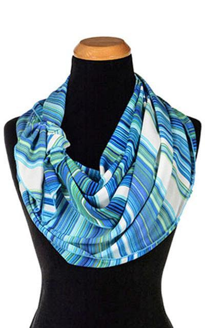 Handkerchief Scarf - Sea Breeze, Solid