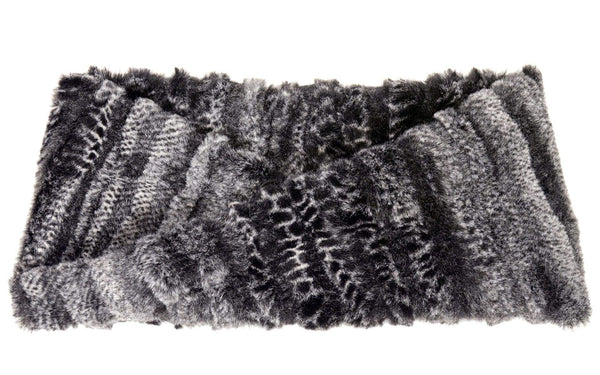 Pandemonium Millinery Headband - Luxury Faux Fur in Rattle N Shake With Twist Headbands