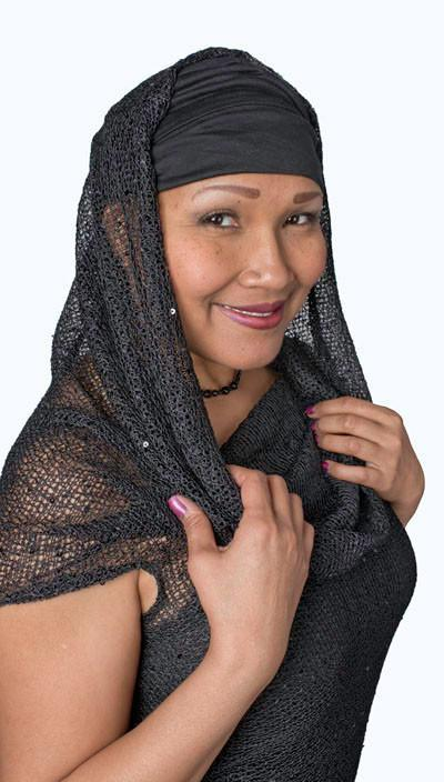 Hooded Cowl Tunic - Nova & Super Nova, Multi-Style X-Small / Nova Apparel Pandemonium Millinery