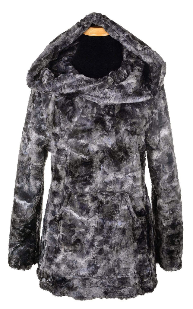 Pandemonium Millinery Hooded Lounger - Luxury Faux Fur in Highland Outerwear
