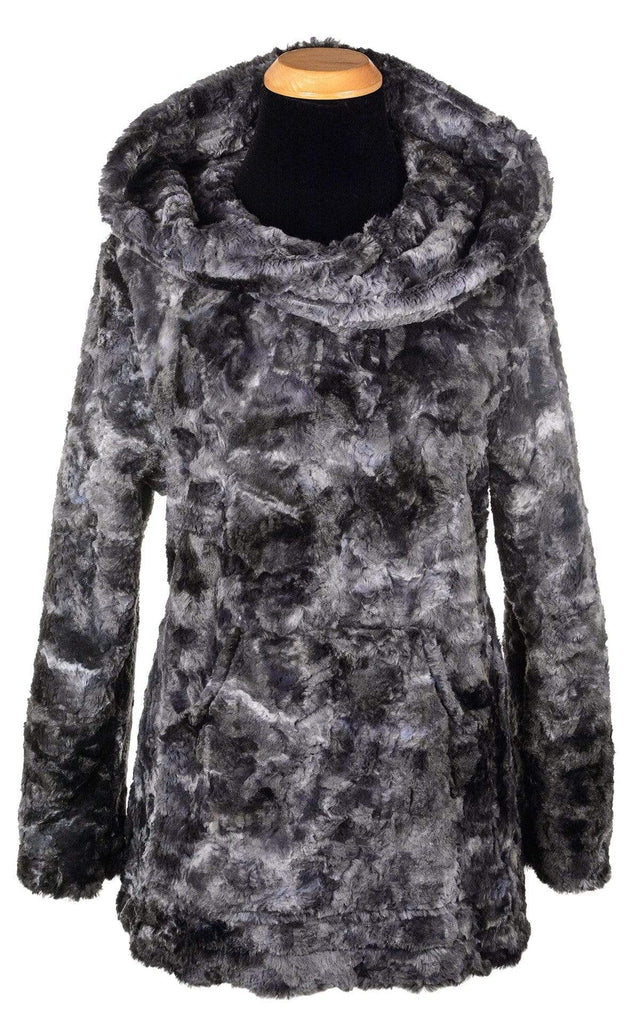 Pandemonium Millinery Hooded Lounger - Luxury Faux Fur in Highland X-Small / Skye Outerwear