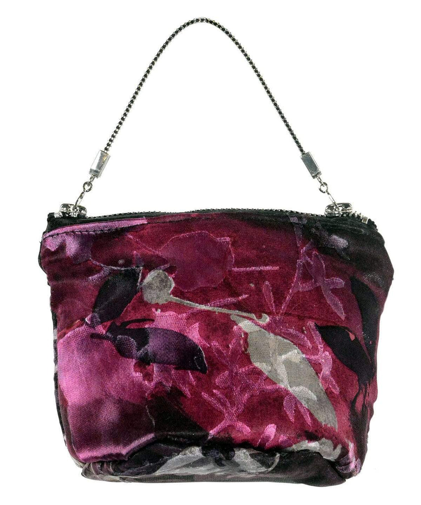 Pandemonium Millinery Ibiza After Six Bag - Garden Path Collection Garden Path in Azalea Handbag