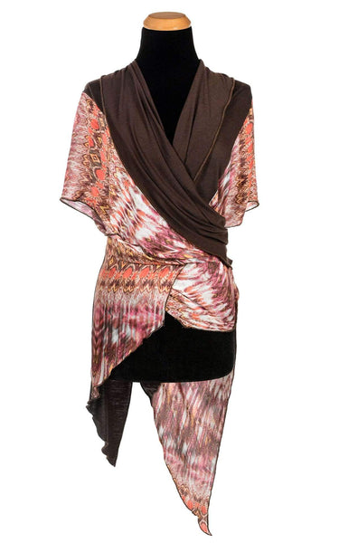 Pandemonium Millinery Kaftan - Pink Dream with Terra Jersey Knit Pink Dream W/ Terra Jersey Knit Apparel