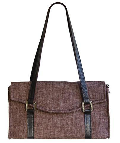 Madrid Style Handbag - Origin in Java Upholstery (One Left!)