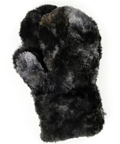 Men's Mittens - Luxury Faux Fur in Highland Meadow Accessories Pandemonium Millinery