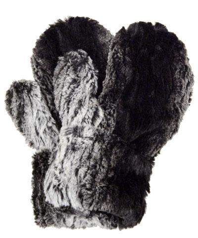 Men's Mittens - Luxury Faux Fur in Smouldering Sequoia Smouldering Sequoia Accessories Pandemonium Millinery