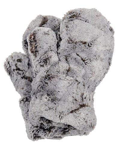 Pandemonium Millinery Mittens - Luxury Faux Fur in Giant's Causeway Giant's Causeway Accessories