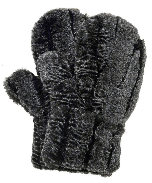 Mittens - Luxury Faux Fur in Rattlesnake Ridge Rattlesnake Ridge Accessories Pandemonium Millinery