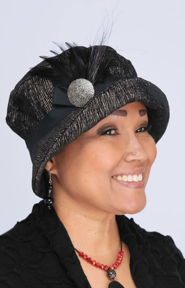 Molly Hat Style - Bongo in Black/Beige Upholstery