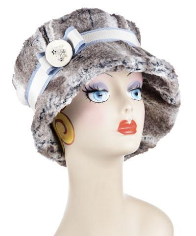 Molly Hat Style - Luxury Faux Fur in Birch