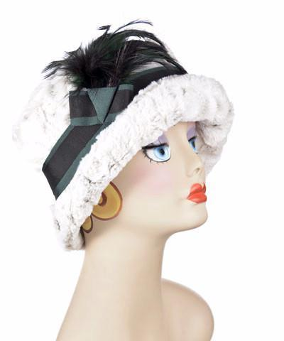 Molly Hat Style - Luxury Faux Fur in Winters Frost