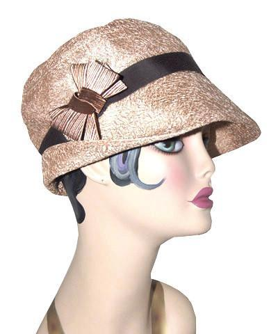 Molly Hat Style - Tumbleweed in Champagne