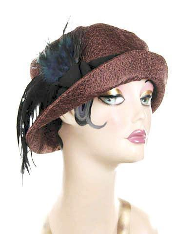 Molly Hat Style - Tumbleweed in Chocolate