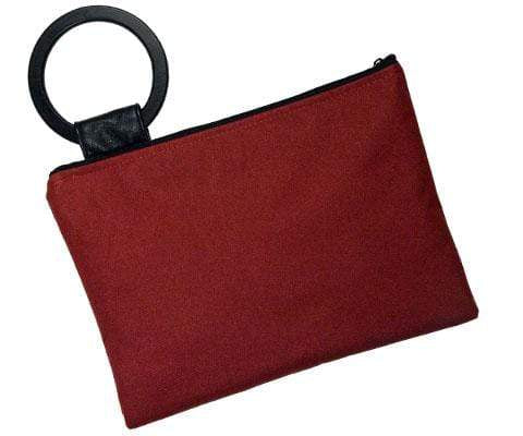 Pandemonium Millinery Paris Clutch - Cordura in Red Cordura in Red Handbag