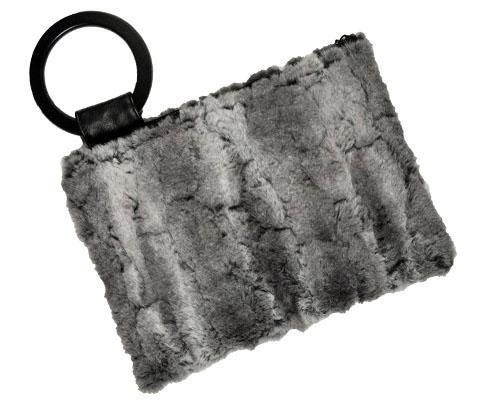 Paris Clutch - Luxury Faux Fur in Stormy Night Stormy Night Handbag Pandemonium Millinery