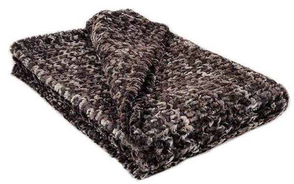 "Pandemonium Millinery Pet / Dog Blanket - Luxury Faux Fur in Calico Standard 58"" x 45"" / Calico Pet Accessories"