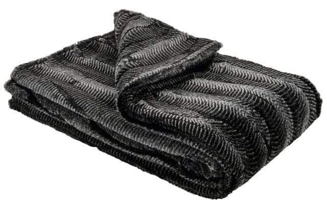Pet / Dog Blanket - Luxury Faux Fur in Nightshade