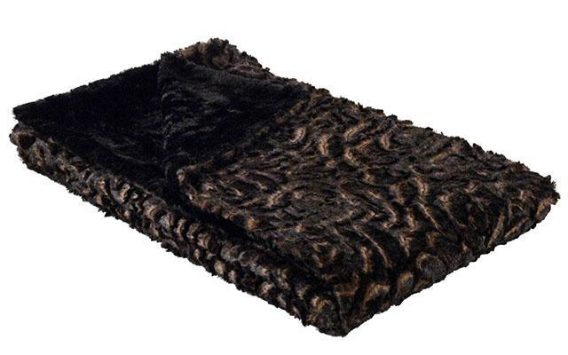 "Pet / Dog Blanket - Luxury Faux Fur in Vintage Rose Standard 58"" x 45"" / Vintage Rose Pet Accessories Pandemonium Millinery"