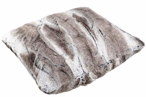 Pillow Sham - Luxury Faux Fur in Birch