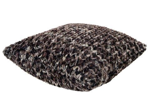 "Pillow Sham - Luxury Faux Fur in Calico 16"" / Add Pillow Form / Calico Home decor Pandemonium Millinery"